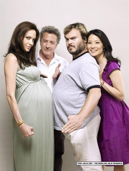 Angelina Jolie, Dustin Hoffman, Jack Black, Lucy Liu - Kung Fu Panda