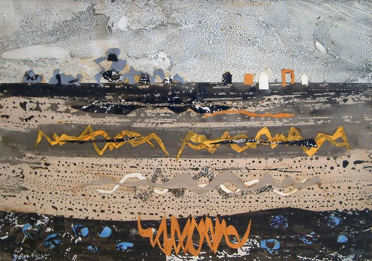 John Piper                          Poelfoen            Signed (lower left)                        Watercolour and Collage