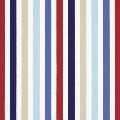 Crew Marine 79% cotton, 21% polyester 138cm  Vertical Stripe Curtaining