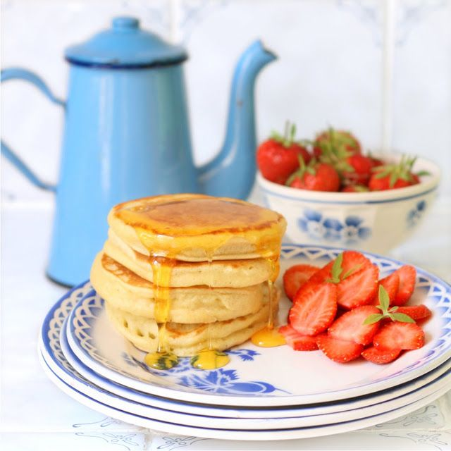 Cakes in the city: Fluffy pancakes