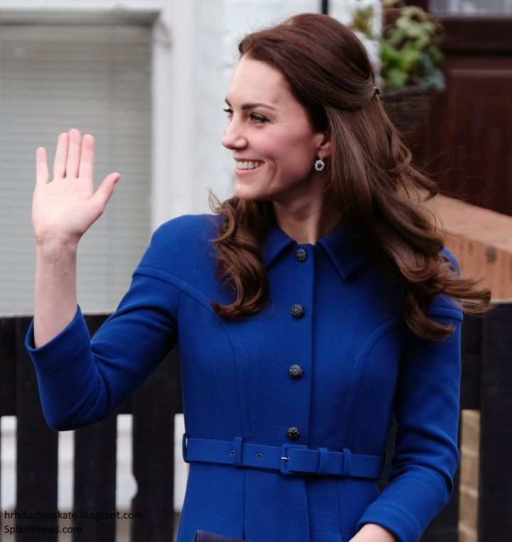 The Duchess of Cambridge carried out her first engagement of 2017 this morning in support of her patronage, Anna Freud Centre for Children a...