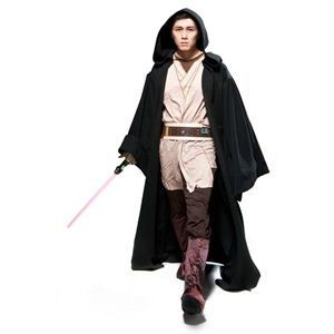 This Super Deluxe Sith Adult Robe Costume is the best way to complete your Star Wars outfit, no matter what Sith character you choose to be! From Darth Maul & Savage Opress to Darth Vader, transform into a Sith with this black robe that is Exclusive only to Official Star Wars Costumes. Make it yours for $73.97.