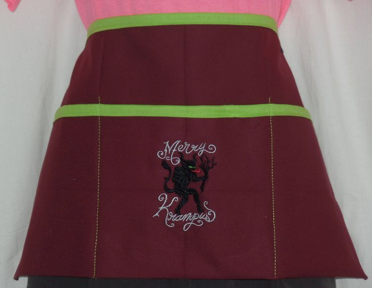 """Thanks for the kind words! ★★★★★ """"This apron is so cute! The quality is great and it arrived very quickly."""" Rochelle L. http://etsy.me/2BHzYcJ #etsy #accessories #christmas #diner #restaurant #waitress #teacher #vendor #gamer #apron"""