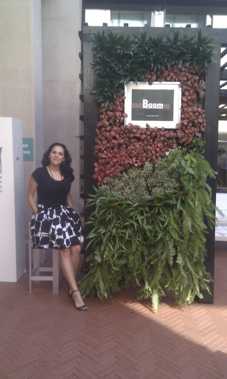 Jardin vertical en DecorAccion 2013 MediaLAb Prado (Madrid)