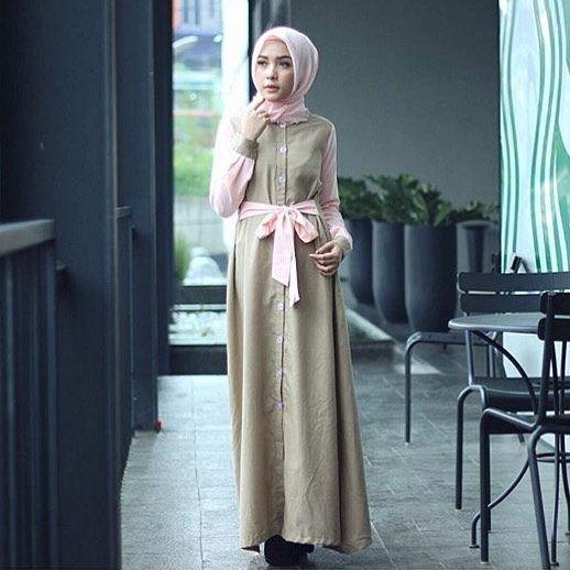 Model Baju Gamis 2018 Hijab In 2019 Pinterest Hijab Fashion