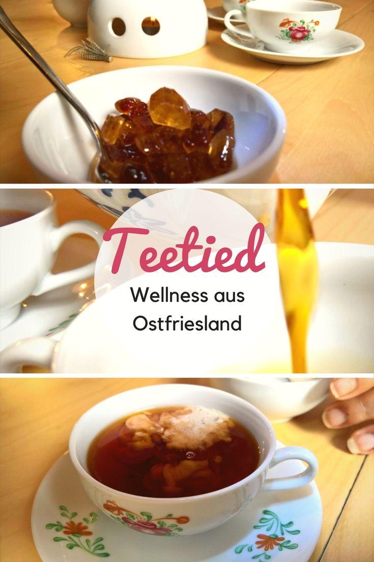 Abwarten und Tee trinken -das haben wir wörtlich genommen und uns unserem liebsten Urlaubsmitbringsel aus Ostfriesland gewidmet: der ostfriesischen Teetied. Ostfriesentee, Kluntje und und das Sahnewölkchen. Wellness pur.