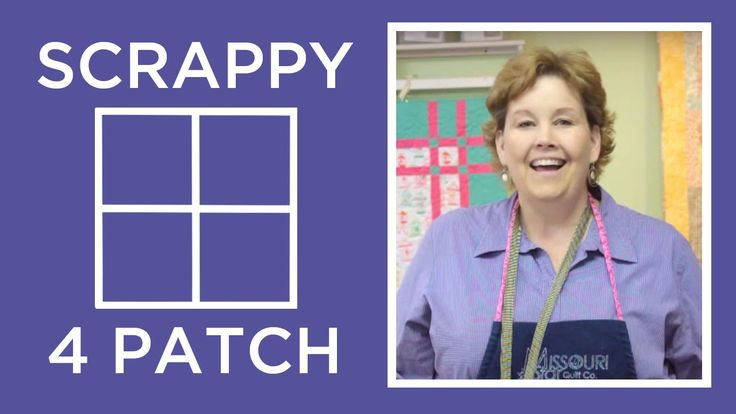 http://missouriquiltco.com -- Jenny Doan shows us an easy way to make a scrappy 4 patch block using charm packs. To get the materials needed to do this proje...
