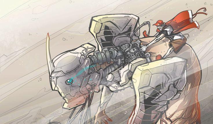 Mech Rider by BrotherBaston on DeviantArt