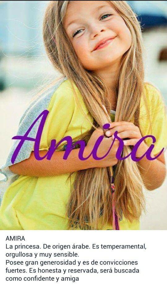 Nombres para bebé, niñas, significado de: Amira