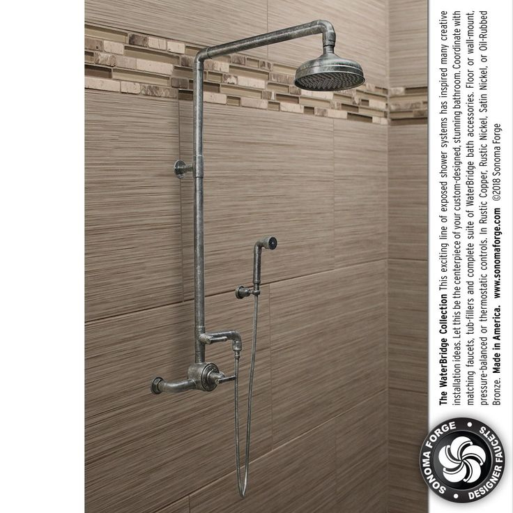 183 best WaterBridge Exposed Shower Systems images on Pinterest
