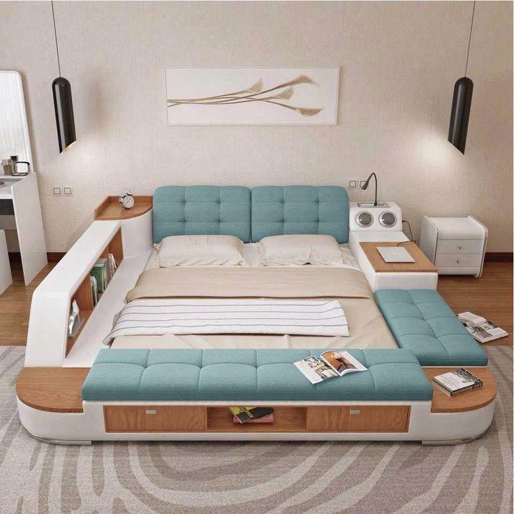 Vous avez certainement déjà croisé la photo de ce super lit sur Facebook, mais avez-vous remarqué tous les détails qui font de ce couchage le meilleur lit du monde ? Fabriqué par nos amis Japonais ce lit à la particularité d'offrir tout le confort nécessaire pour entrer en hibernation. Une station de massage est même prévu pour vous délacer au maximum. Un système de rangement est prévu sous le sommier, vous permettant de stocker toutes sortes de choses. Ce lit est même un combiné parfai...