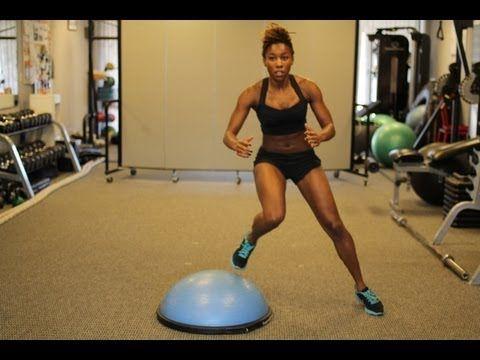 Bosu Ball Workout: 3 Cardio Conditioning Exercises