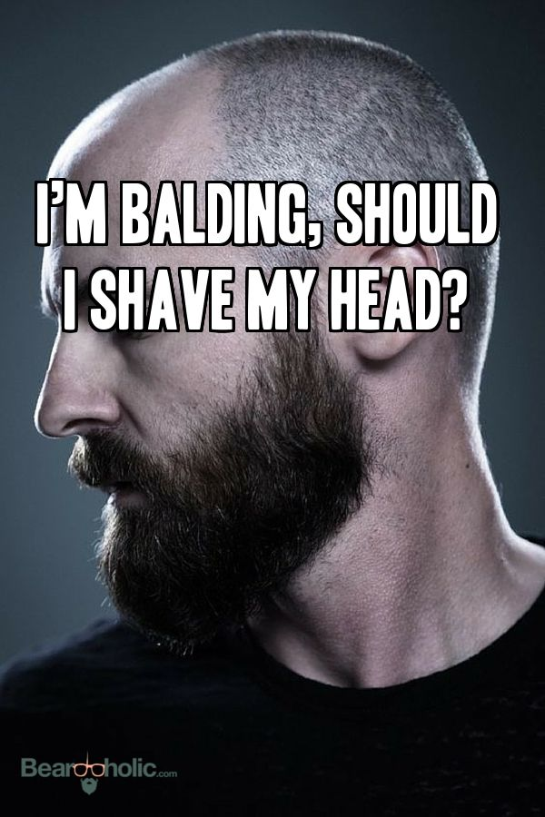 Bald is bland by itself, but add a beard and you instantly add some character, mystique, masculinity, and personality from Beardoholic.com