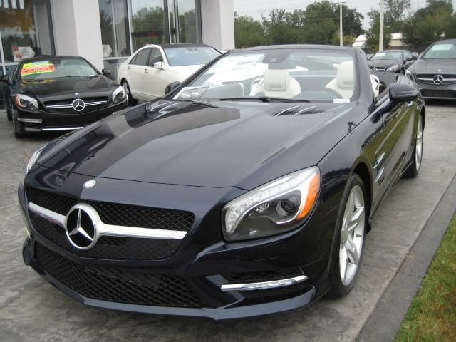 2014 mercedes benz sl class sl550 sl550 2dr convertible convertible 2 doors blue for sale in. Black Bedroom Furniture Sets. Home Design Ideas
