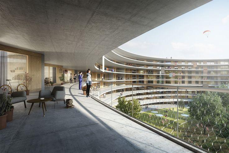 Dürig AG Designs Student Housing for University of Lausanne