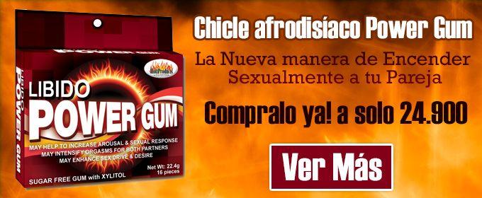 Buscabas el #afrodisiaco perfecto para hombres y mujeres?, te presentamos el #chicle Libido Power Gum, que esperas para probarlo? compralo ya en sexosentido! http://sexosentido.co/…/2678-chicle-afrodisiaco-libido-gum.… (envíos a toda #Colombia)