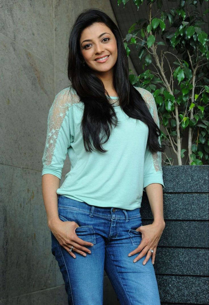 Kajal Agarwal Hot Photos in Jeans Exclusive