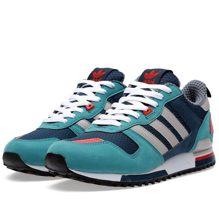 d51e0001 ... Zapatillas Adidas Originals ZX 700 Hombre Gasolina Oscuro / Cromo /  Plata / Azul MarinoBAYoqn ...