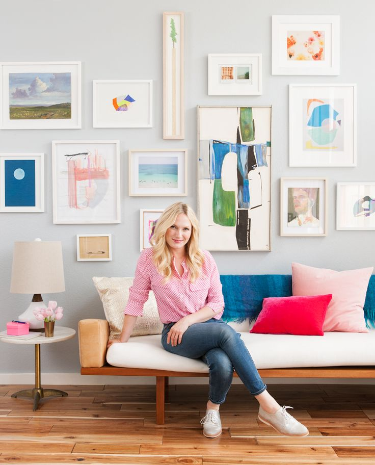 Emily Henderson's gallery wall tips.