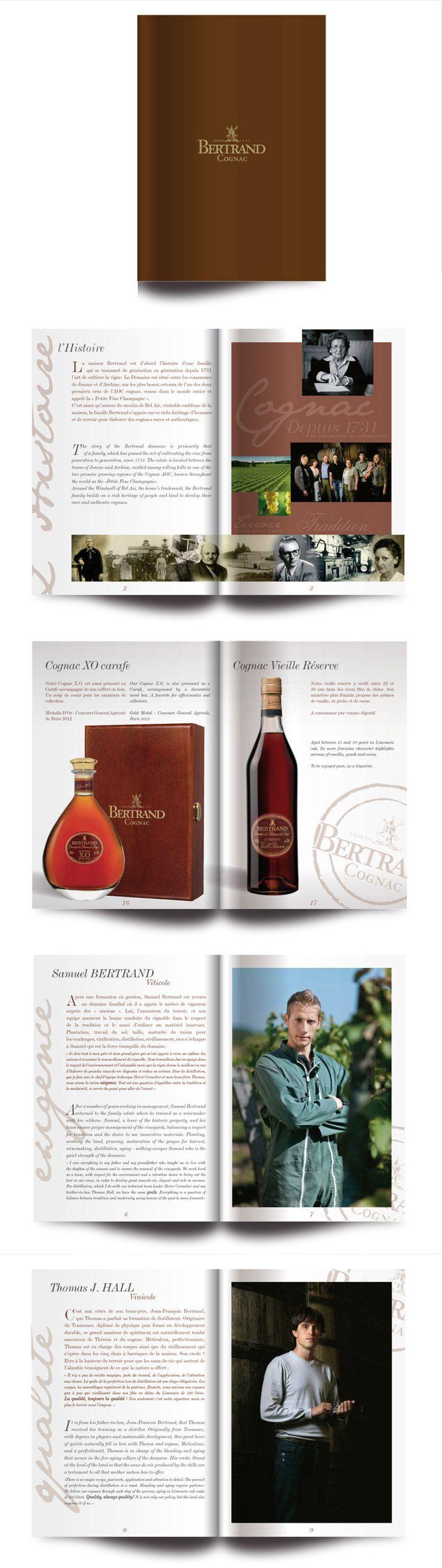 Plaquette Cognac Bertrand