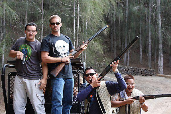 "Paul Walker Pablo: Paul Walker In Lanai Hawaii In 2010: ""boys And Their Toys"
