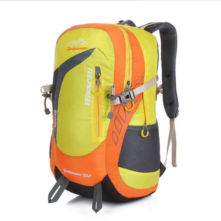 Outdoor multifunction waterproof hiking bag rucksack pack Camping hiking backpack sports bag Men woman Travel Bags Backpack 35L