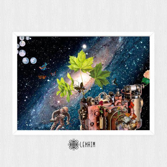 Poster 50x71 cm Across the Universe Instant por LehaimDesign