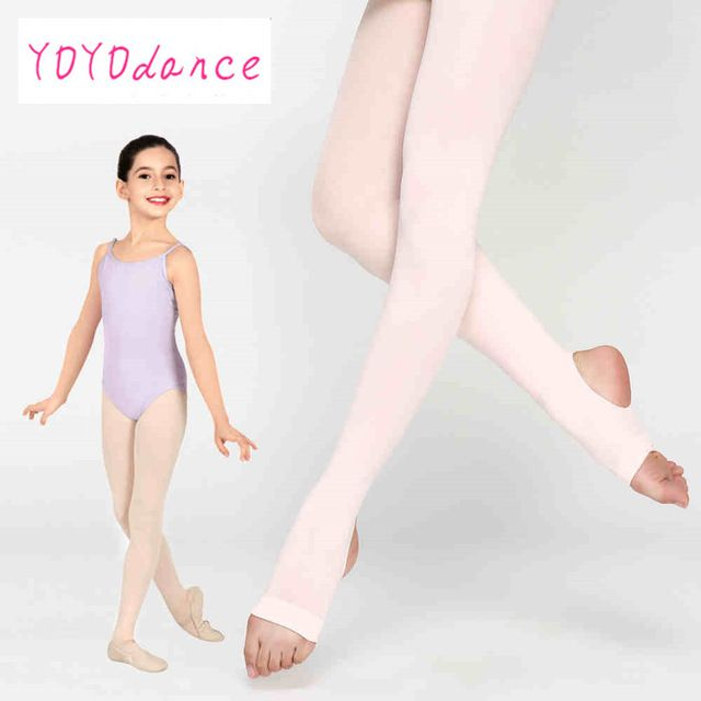 Kids Girls Ballet Dance Opaque Tights Pantyhose Hosiery Stockings Multi Color SA
