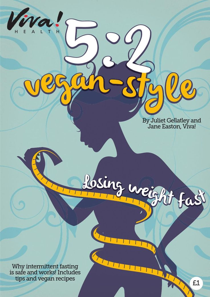 5-2 Vegan Style Guide  By Juliet Gellatley and Jane Easton  This latest diet is taking the world by storm - but is it based on sound science and nutrition? Does it work?! (The answer is yes, it certainly does!) The 5:2 involves eating 500 calories a day (women) or 600 cals (men) for two days a week. On the remaining five you can eat and drink normally. For many people who fail to restrict calories or portion count day after day on a conventional diet, the 5:2 really works. This fabulous and…