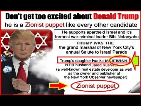 YouTube Donald Trump Jewish connection | Just saying ...