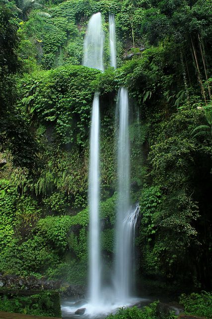 Sendang Gila Falls - Lombok, Indonesia