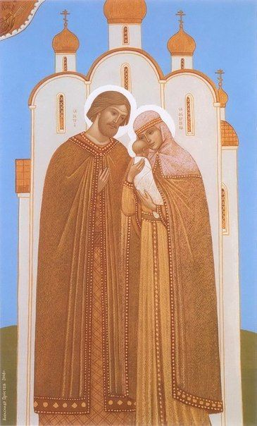 Aleksandr Prostev   VK 25 iunie Sfintii Petru si Fevronia din Murom
