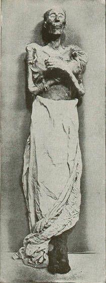 Mummy of Pharaoh Ramses II of Egypt