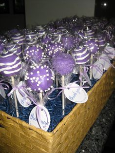 purple bridal shower ideas - Google Search