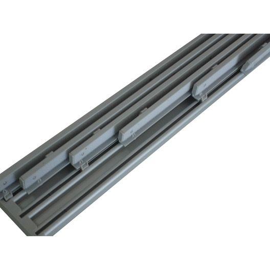 Rail extensible pour panneau japonais, blanc, 230/365 cm