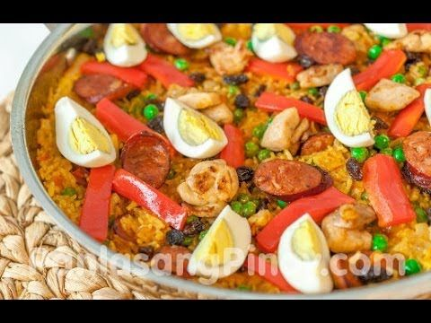 Arroz Valenciana Recipe Filipino Recipes Filipino Recipes