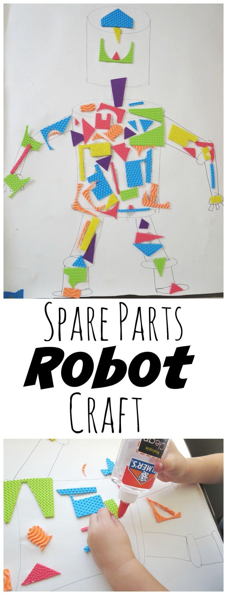 Spare Parts Robot Craft