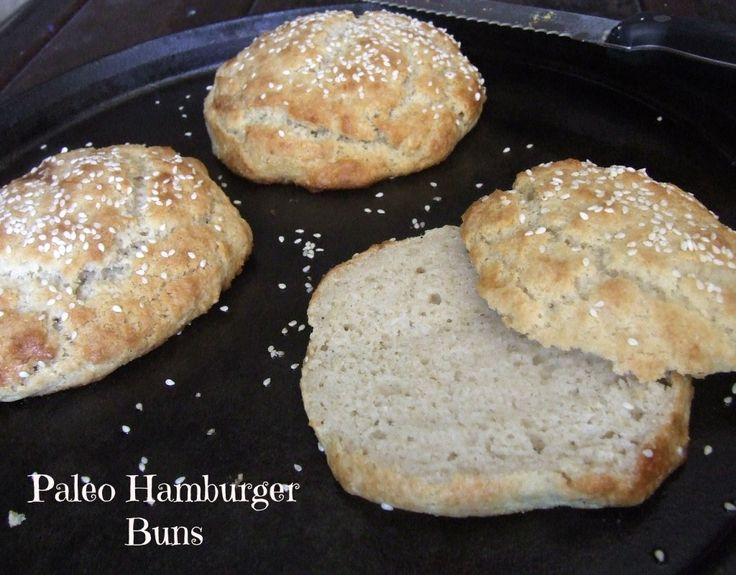 Quick & Easy Paleo Hamburger Buns   Print  Prep time 15 mins  Cook time 15 mins  Total time 30 mins     For grain free baking...