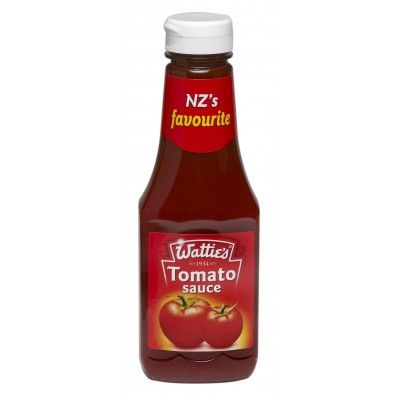 Wattie's Tomato Sauce is an iconic Kiwi favourite. Nothing says Kiwi Summer BBQ quite like it. The sauce of choice at sausage sizzles,  BBQ's, with your fish and chips or the classic New Zealand mince pie topped with a swirl of NZ's favourite sauce.  See more at www.entirelynz.co.nz/food