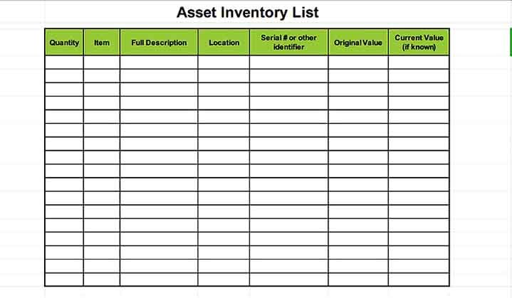 Often, this involves tracking which items are going out, what's stil. Sample Asset Inventory Template Inventory Management Templates Business Template Equipment Tracking