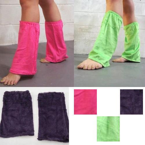 Discount Costume Pair Solid Color Boot Cuff Soft Leg Warmer Dance Rave Club USA | eBay