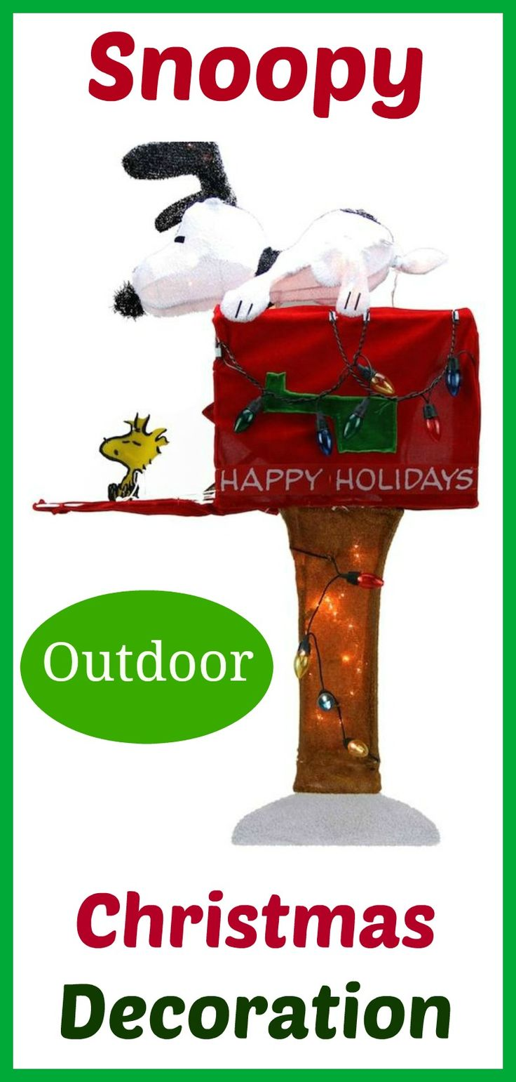Snoopy outdoor christmas decorations - Best 25 Snoopy Christmas Decorations Ideas On Pinterest Charlie Brown Christmas Snoopy Dog House And Charlie Brown Games