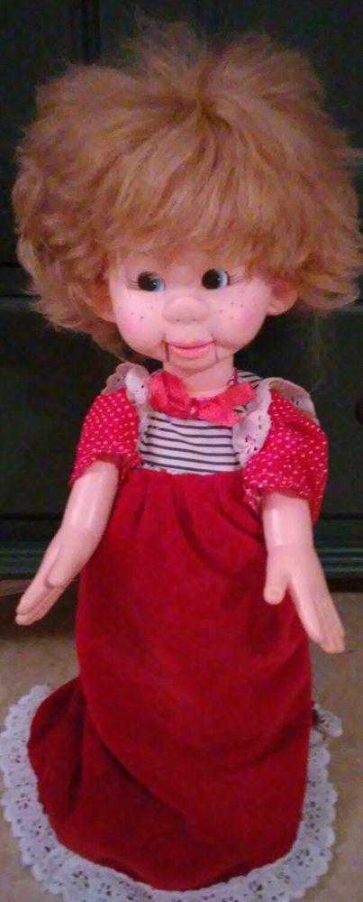 Tessie Talk Ventriloquist Horsman Dolls Inc Vintage  Doll  1974 #Dolls