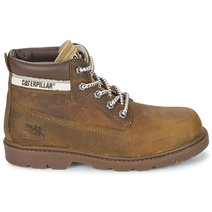 Boys can look just like dad with their Caterpillar boots this winter #shoes #boots #caterpillar #workboots #boys #kids #children #fashion #uk
