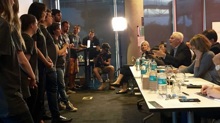 Startup Weekend judges