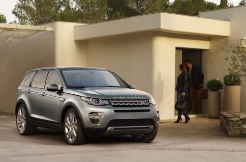 The bold design of New Discovery Sport.