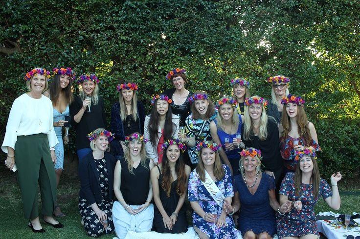 Bridal shower workshop #sydneyflowercrownworkshop
