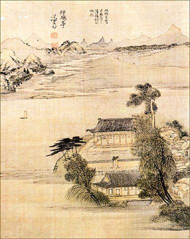 korean paintings | Korean traditional painting - Jung Sun(1676)