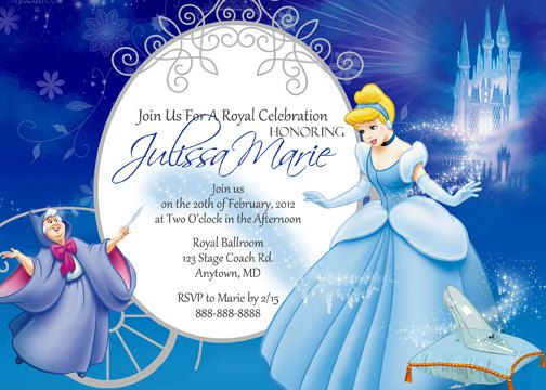 The 25+ best Cinderella invitations ideas on Pinterest ...