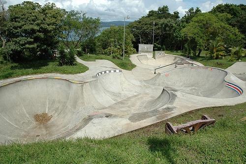 Tilawa Skatepark. Costa Rica
